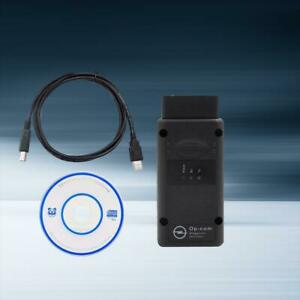 Opel Op Com V1 59 Vauxhall Obd2 Diagnostic Code Reader Scanner Tool Opcom Cd New