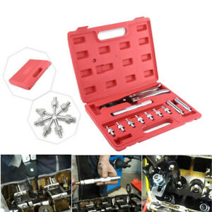 11pcs Valve Stem Seal Removal Tool Installer Plier Deep Seal Driving Socket Set