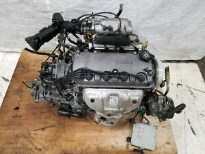 Jdm 96 00 Honda Civic D16a 1 6l Engine Non Vtec And 5 Speed Manual Transmission