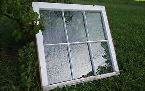 Vintage Sash Antique Wood Window Picture Frame Pinterest Rustic 6 Pane 28x27