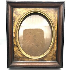 Antique Victorian For 8x10 Photo 2 25 Deep With Oval Cutout Wood Picture Frame