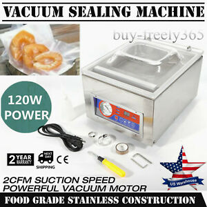 Commercial Food Saver Vacuum Sealer Machine Seal A Meal Sealing System Automatic