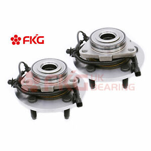 2 Front Wheel Bearing Hubs For 2006 2007 2008 Dodge Ram 1500 W abs 4wd 515113w
