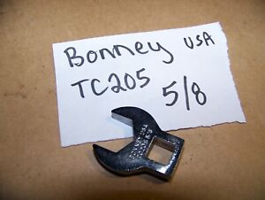 Bonney Usa 3 8 Drive Crowfoot Wrench Tc20s 5 8