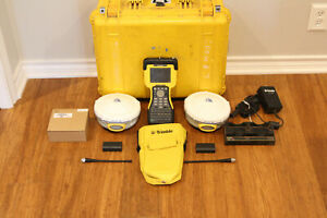 Trimble Dual R8 Model 2 Gps Gnss Glonass Rtk Survey Receiver Setup W Tsc2