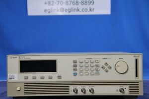 Agilent Hp 8114a Pulse Generator With 001 variable Baseline 25v