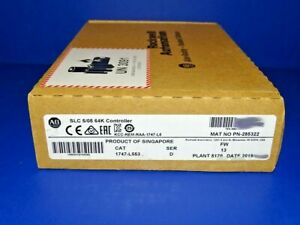 2019 Factory Sealed Allen Bradley 1747 l553 Series D Slc 5 05 Processor Slc 500
