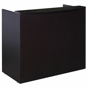 48 Inch Small Reception Desk For Small Office Space Free Shipping