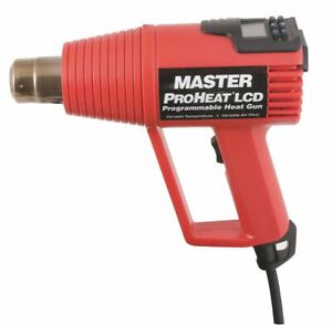 Master Appliance Electric Heat Gun 120vac Variable Temp Settings 130 To