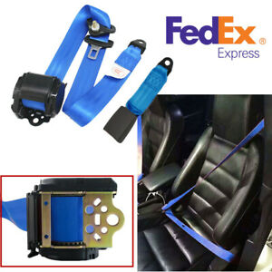 3 Point Car Safety Seat Lap Belt Adjustable Hardware With Quick Release Camlock
