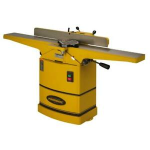 Powermatic 1791317k 6 In Jointer With Helical Cutter Head
