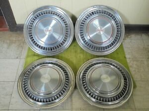 75 88 Gmc Truck 16 Hubcaps C25 Set Of 4 Wheel Covers 3 4 Ton