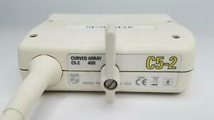 Philips C5 2 Curved Array 40r Ultrasound Transducer Probe gp21