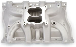 Edelbrock 2115 Performer Cadillac Intake Manifold Cast Non Egr Idle 5500rpm