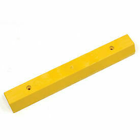 Parking Curb Recycled Plastic Yellow Concrete Installation 36 l X 5 3 4 w X