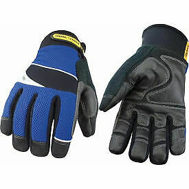 Waterproof Work Glove Waterproof Winter W Synthetic Fiber Medium 1 Each