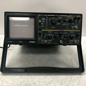 Tenma Test Equipment 20mhz Oscilloscope 2 Channel Unit 72 3055 Tested Working