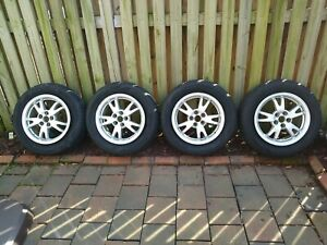 Set Of Oem 2011 15 Inch Toyota Prius Wheels With Tires
