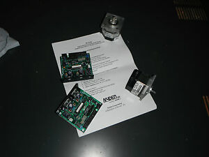 Lot Of Two Stepper Motors With Two Programmable Drivers 4292