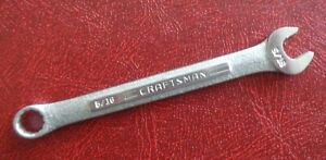 5 16 Craftsman Combination End Wrench Part Number 44691 V Made In Usa