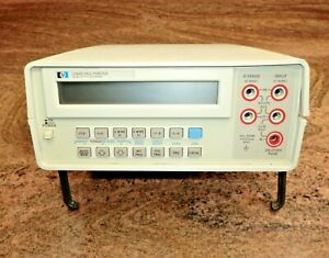 Hp 3468a 5 5 Digit Digital Multimeter Program Hewlett Packard Agilent Multi