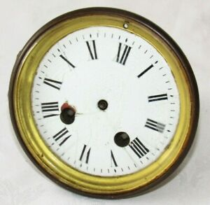 Nice French Striking Clock Movement By Marti