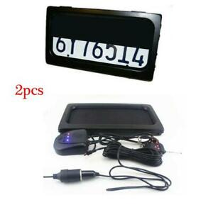 Us Car License Plate Frame W remote Hide away Shutter Cover Up Electric Stealth