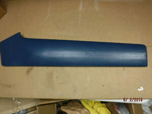 New Blem 1969 Charger Driver Side Upper Door Panel Pad Blue Dodge 69