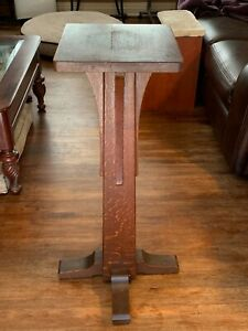 Antique L Jg Stickley Planter Stand From The Early 1900 S W2030