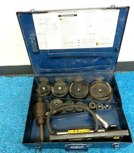 Current Tool 154pm Hydraulic Knockout Punch And Die Set 1 2 4 Inch