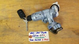 00 05 Toyota Celica Oem Ignition Switch Cylinder With Key A t 2 Keys Remote
