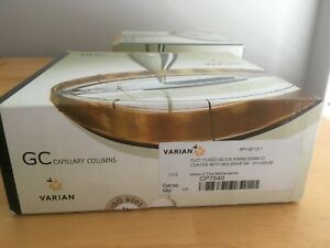 Varian Plot Fused Silica Gc Column 50 M 0 32 Mm Coated With Molsieve 5a New