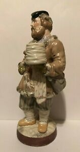 Antique 19th Century Russian Porcelain Figurine Made By Gardner Factory