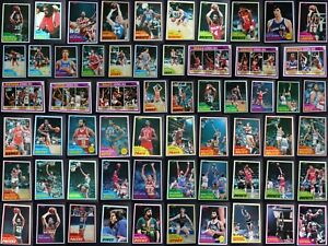 1981 82 Topps Basketball Cards Complete Your Set Pick From List 1 110