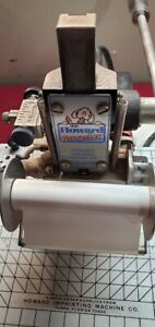 Howard Personalizer Model 45 Imprinting Hot Foil Stamping Blue Machine