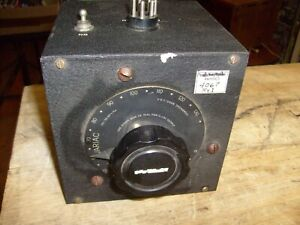 General Radio Variac Type 200c Variable Transformer Powerstat In Case 200 c