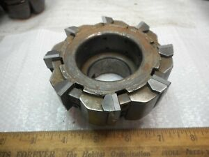 Valenite Carbide Insert Face Mill 4 00 Diameter B 4 8r
