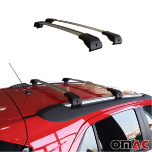 Roof Rack Cross Bars Luggage Carrier Silver Set For Chevrolet Trax 2015 2020