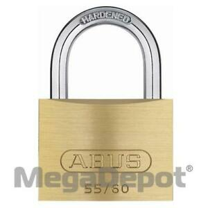Abus 55 60 B Ka 55 Series Solid Brass Padlock Keyed Alike Boxed