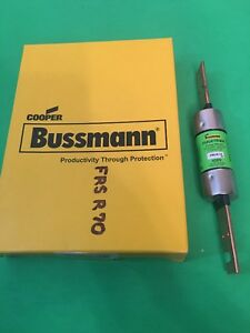 5 Bussman Fusetron Frs r 70 Dual Element Time Delay Class Rk5 Fuses New