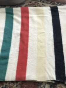 Very Early Hudson Bay Blanket Red Label 4 Point Blanket