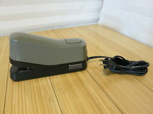 Panasonic Model As 302n Electric Stapler Made In Japan Works Great