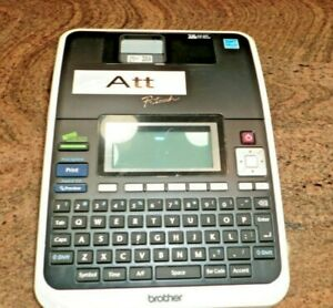 Brother Pt 2730 Label Thermal Printer Pt2730 P touch
