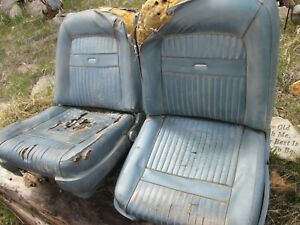 1962 1965 Comet Falcon Bucket Seats