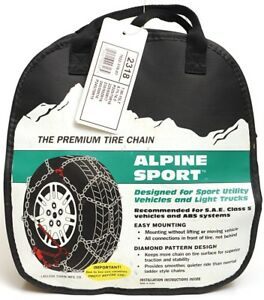 Laclede Alpine Sport 2318 les Schwab 2318 s Diamond Pattern Tire Chains