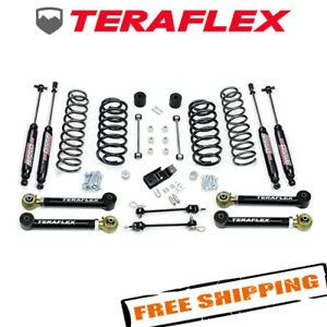 Teraflex 3 3 Lift Kit W 4 Flexarms Shocks For 1997 2006 Jeep Wrangler Tj Lj
