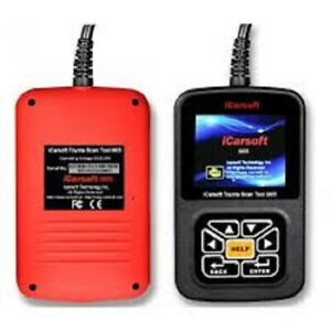 Icarsoft I905 Diagnostic Scanner Tool Toyota Scion Lexus Srs Abs Engine Trans