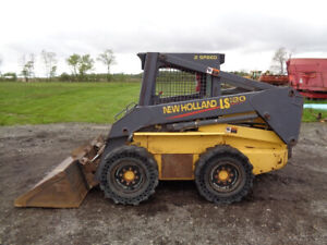 2000 New Holland Ls180 Skid Steer Orops Sticks pedals 2 Speed 2 557 Hours