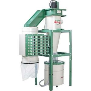 Grizzly G0441hep 3 Hp Dual filtration Hepa Cyclone Dust Collector
