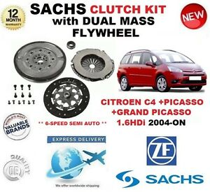 For Citroen C4 grand picasso 1 6 Hdi 2004 Clutch Kit Flywheel 6 Speed Semi